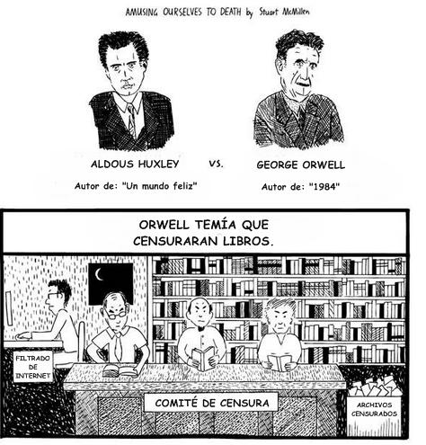 Orwell VS Huxley: ¿Infinita distracción o opresión del gobierno?